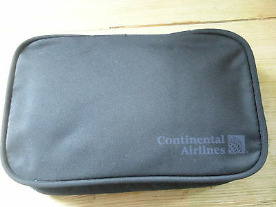Continental Airlines Business First Hanging Amenity Kit NEW