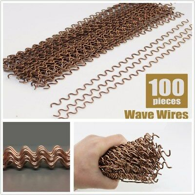 """NEW 100PCS /SET 0.08"""" Metal Wiggle Wires Dent Repair Spotter Welding Pulling"""