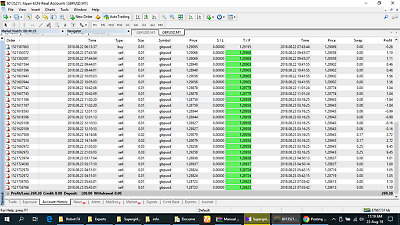 EA Robot Expert For Forex Trading MT4 & Alpari*Low investment with high profit