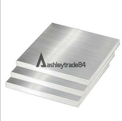 1pcs 304 Stainless Steel Fine Polished Plate Sheet 3mm x 100mm x 100mm