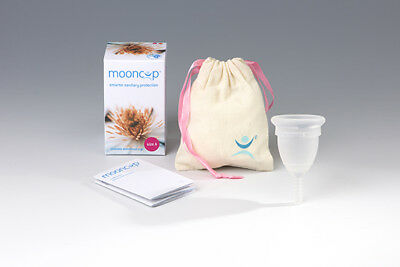 Mooncup Reusable Menstrual Cup - Size A or B - UK Seller
