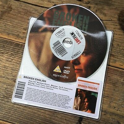 Broken English (DVD 2007) Comedy, Romantic Drama - Parker Posey - DISC ONLY
