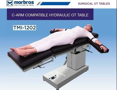 C-Arm Compatible Hydraulic Ot Table Ot Table Operation Theater Surgical Table