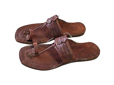 Hand Made Hippie Water Buffalo Leather Sandals - Unisex - Sizes 5-13 (See Chart)