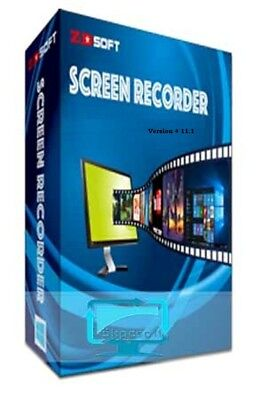 ZD Soft Screen Recorder 11.1 - Full Edition - Latest 2018 + key