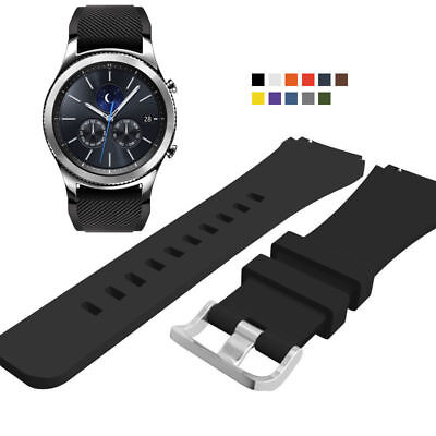 For Samsung Gear S3 Frontier/Classic Silicone Bracelet Strap Wrist Watch Band
