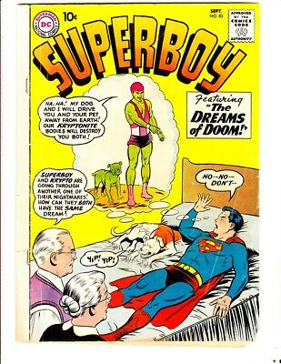 Superboy 83 (1960): FREE to combine- in Good/Very Good condition