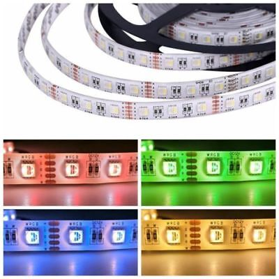 5M 5050  4-in-1 Chip RGBW/RGBWW RGB+White/WarmWhite Waterproof LED Strip Lights