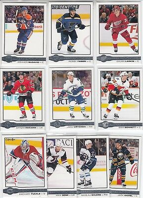 2015-16 Upper Deck O-Pee-Chee Glossy Rookies Complete Set 10 Cards Mcdavid +++