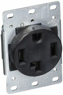 4-Wire, 30-Amp, 250V Flush Mount Dryer Receptacle Leviton 278-S00