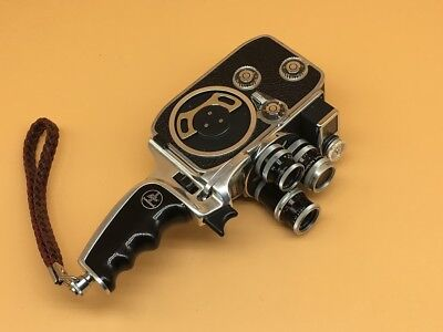 Paillard Bolex D8L 8mm Cine Movie Camera