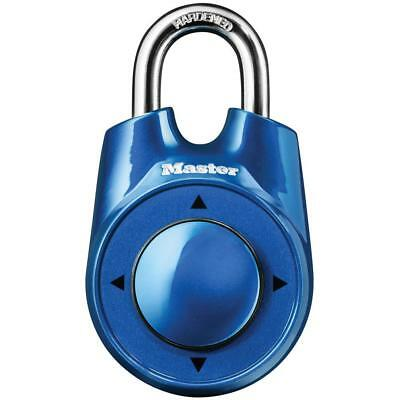 MASTER LOCK Speed Dial Set-Your-Own Combination Padlock (Various Colors)