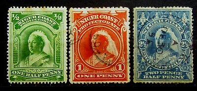 NIGER COAST Old Stamps  - Used / Mint - r71e6848