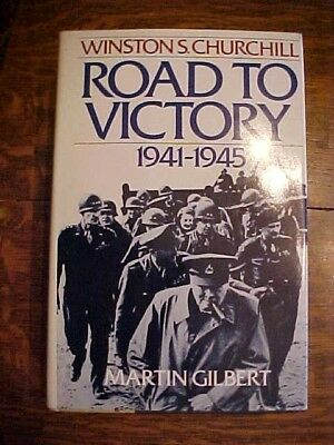 1986 Book ROAD TO VICTORY 1941-1945, Winston S. Churchill by Gilbert, Vol 7 WWII
