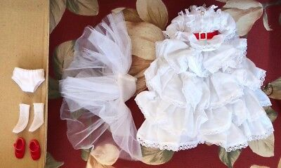 """SCARLETT O'HARA GWTW Outfit And Shoes For 8"""" Tonner Betsy McCall Doll"""