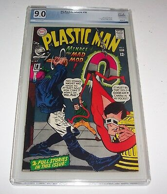 Plastic Man #6 - DC 1966 Silver Age Issue - PGX VF/NM 9.0