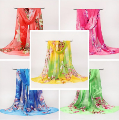 Fashion scarves ladies chiffon long section scarf thin shawl Sun Beach towel new