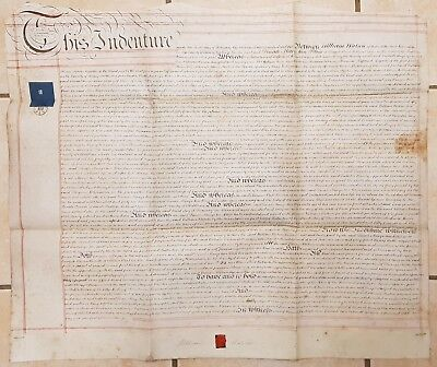 1850 Vellum Indenture William Watson to Dinah Bliss, Albion Street, Rotherhithe