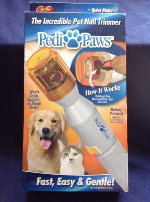 Pedi Paws Nail Trimmer Grinder Grooming Tool for Pet