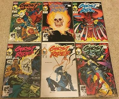 GHOST RIDER (6 Comics) #17 18 19 20 21 22 VF/NM Cond!