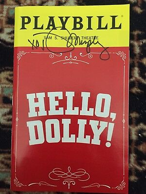 Donna Murphy Signed Hello Dolly Playbill