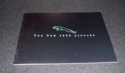 The New 1995 Jaguars Brochure- Featuring The Full Line