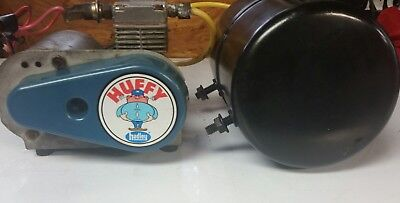 VINTAGE HUFFY HADLEY Air Compressor With Tank /Air Horn ... on