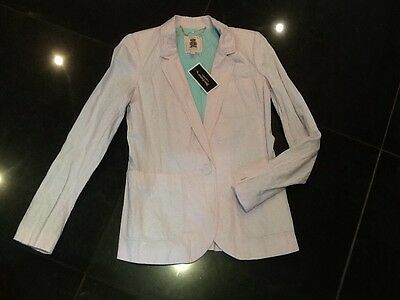 NWT Juicy Couture New & Genuine Ladies Size 4 US, UK 8/10 Pink Cotton Jacket