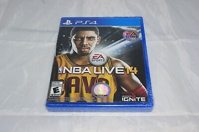 NBA Live 14 Sony PlayStation 4 Brand New Factory Sealed Has Wear to Seal