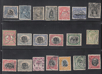 Liberia 20 DIFFERNT USED GERMAN SEEPOST Cancels
