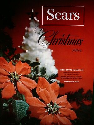 1964 SEARS CHRISTMAS CATALOG  ON DVD / TOYS AND MORE vintage WISH BOOK