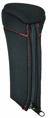 Gear shift knob cover black red stitching for 9/10/13/15/18 speed Eaton Fuller