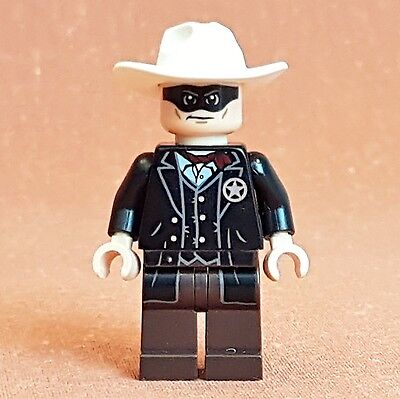 Lego Mini figure The Lone Ranger tlr001 Used