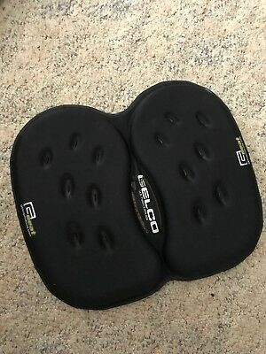 Gelco Gseat Lite Orthopedic Gel Seat Cushion Relief from Sciatica Back Pain