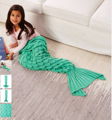 Moda Up Scaled Mermaid Tail Blanket (Mint) Brand New in Packaging