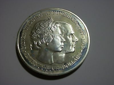 Cayman Islands 1972 25 Dollars Proof Silver Large Coin
