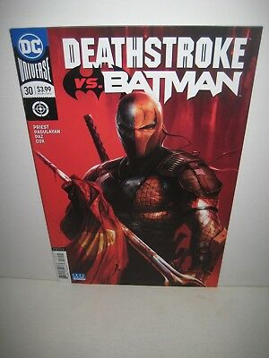 DEATHSTROKE #30 Francesco Mattina Variant 1st print Rebirth DC Comics NM 2018