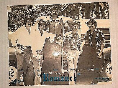 "VINTAGE 1980's PHOTO REPRINT OF THE GROUP ""ROMANCE""  RARE ITEM"