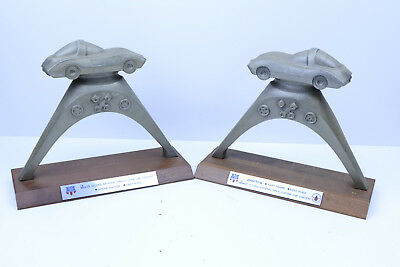 Lot of 2 Revell Second Annual National Championship Trophies