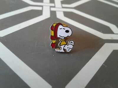 Vintage Aviva Snoopy with Foot in Cast Mini Pin