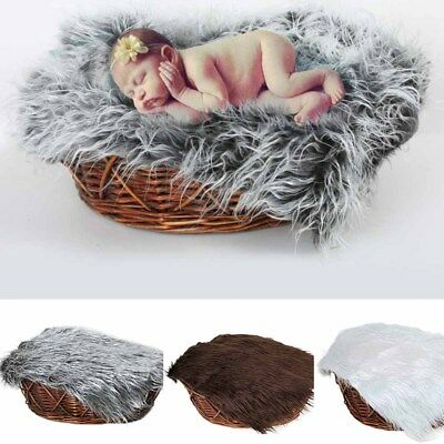Newborn Baby Girl Boy Stretch Wrap Infant Photography Photo Prop Blanket Rug NE8