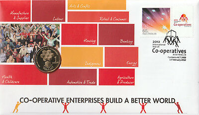 Australia 2012 : Year of The Co-Operatives PNC, Mint Condition