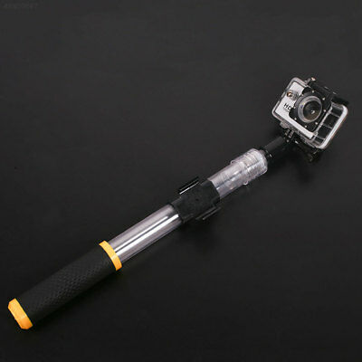 A6F8 Transparent Extension Telescopic Selfie Stick Floating Pole For Gopro Hero