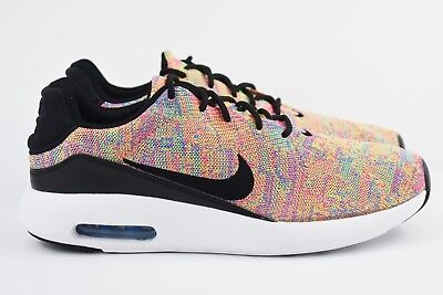 7d74ce40e95 Nike Air Max Modern Flyknit Mens Size 9.5 Running Shoes 876066 403 Rainbow  Multi