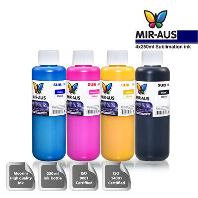 Sublimation ink in different sizes 120ml & 250ml for CISS & refill cartridges