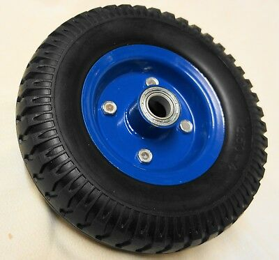 "8"" Trolley Wheel 200mm SOLID 20mm Double Bearing PUNCTURE PROOF"