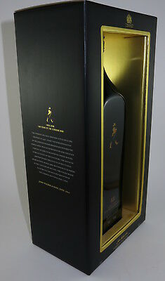 Johnnie Walker Black Scotch Centenary Edition Boxed 100 Years Of Striding Man