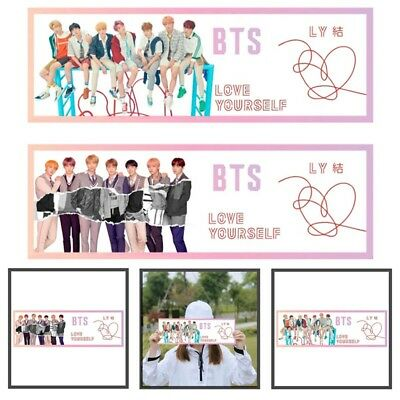 KPOP BTS LOVE YOURSELF 結 ANSWER Concert Airport Banner HD Photo Hang Up Poster