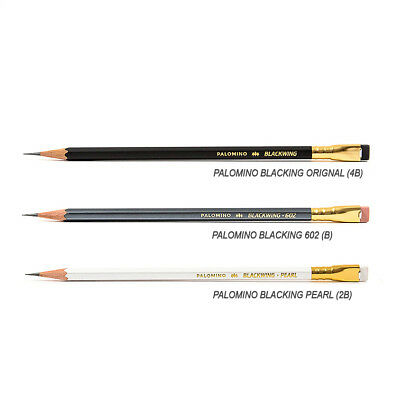 PALOMINO Blackwing 3Pencil Set (Original, 602, Pearl 1each) / Made in Japan
