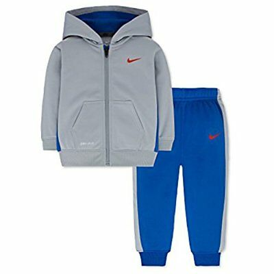a185dc22c04c NWT! BOYS NIKE Nike Therma 2 Piece Set Hoodie Pants sz 24 months Ful ...